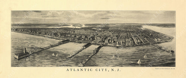 Atlantic City, New Jersey 1905