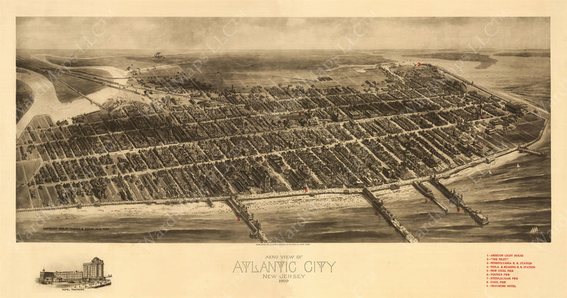 Atlantic City, New Jersey 1909