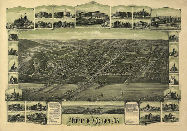 Atlantic Highlands, New Jersey 1894