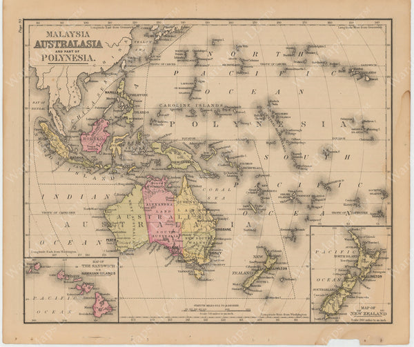 East Indies and South Pacific 1879