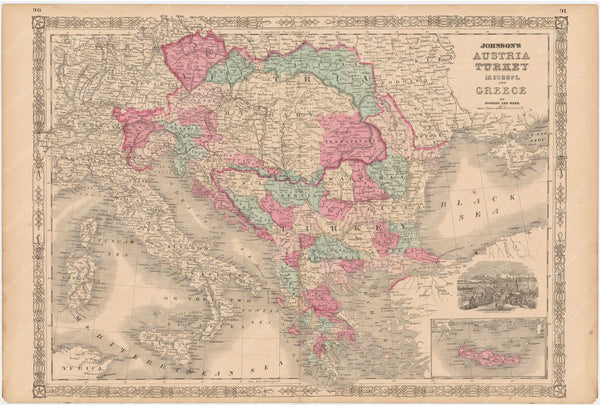 Austria, Greece, Balkans, and Turkey in Europe 1865