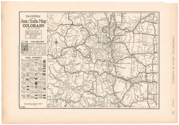 Colorado 1925: Auto Trails