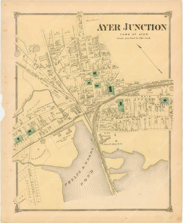 Ayer Junction, Massachusetts 1875