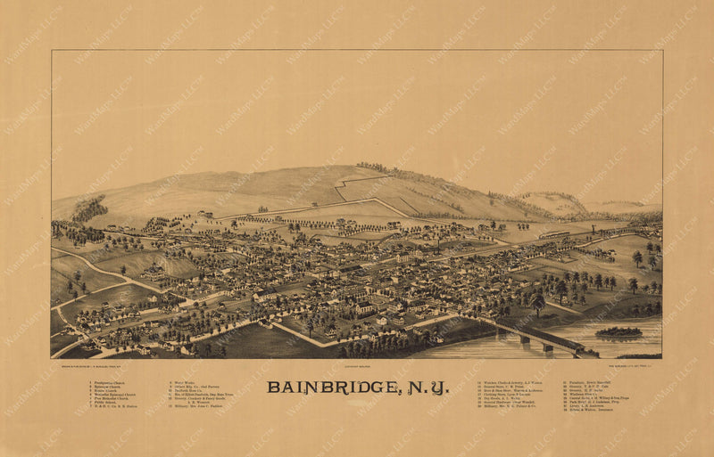 Bainbridge, New York 1889
