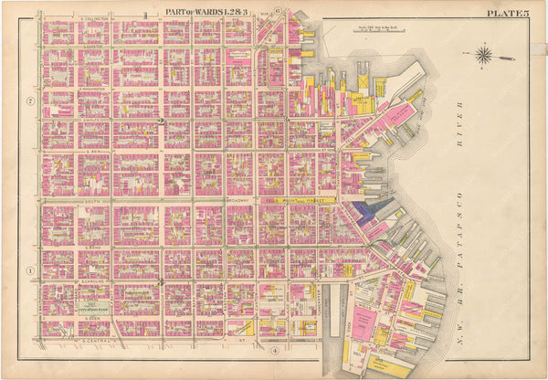 Baltimore, Maryland 1906 Plate 005