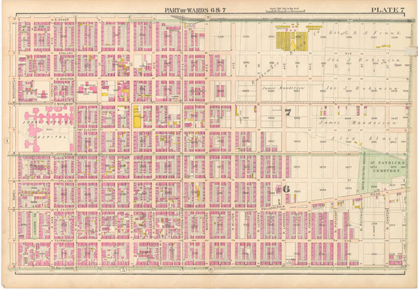 Baltimore, Maryland 1906 Plate 007