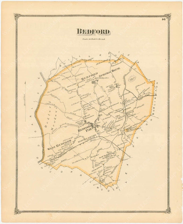 Bedford, Massachusetts 1875