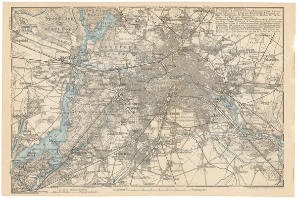 Berlin, Germany 1908: Greater Berlin