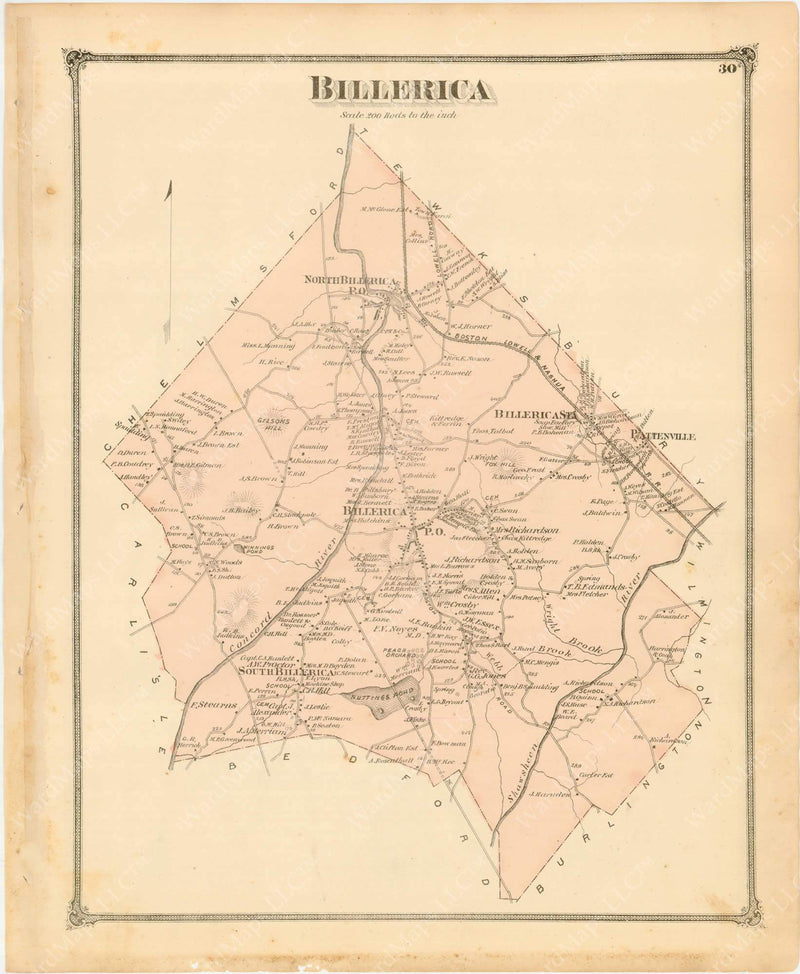 Billerica, Massachusetts 1875