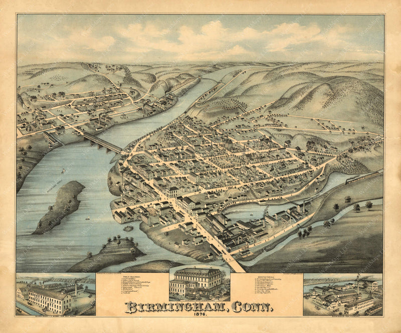 Birmingham, Connecticut 1876