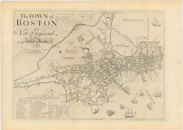 Boston, Massachusetts 1835