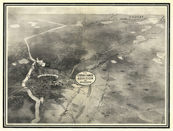 Brainerd, Minnesota 1914