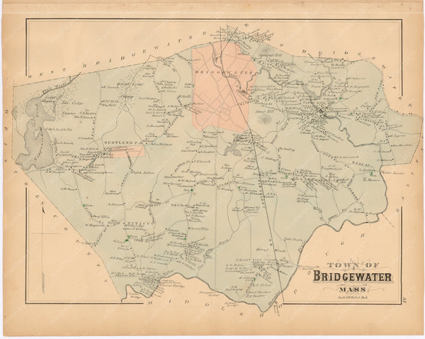 Bridgewater, Massachusetts 1879