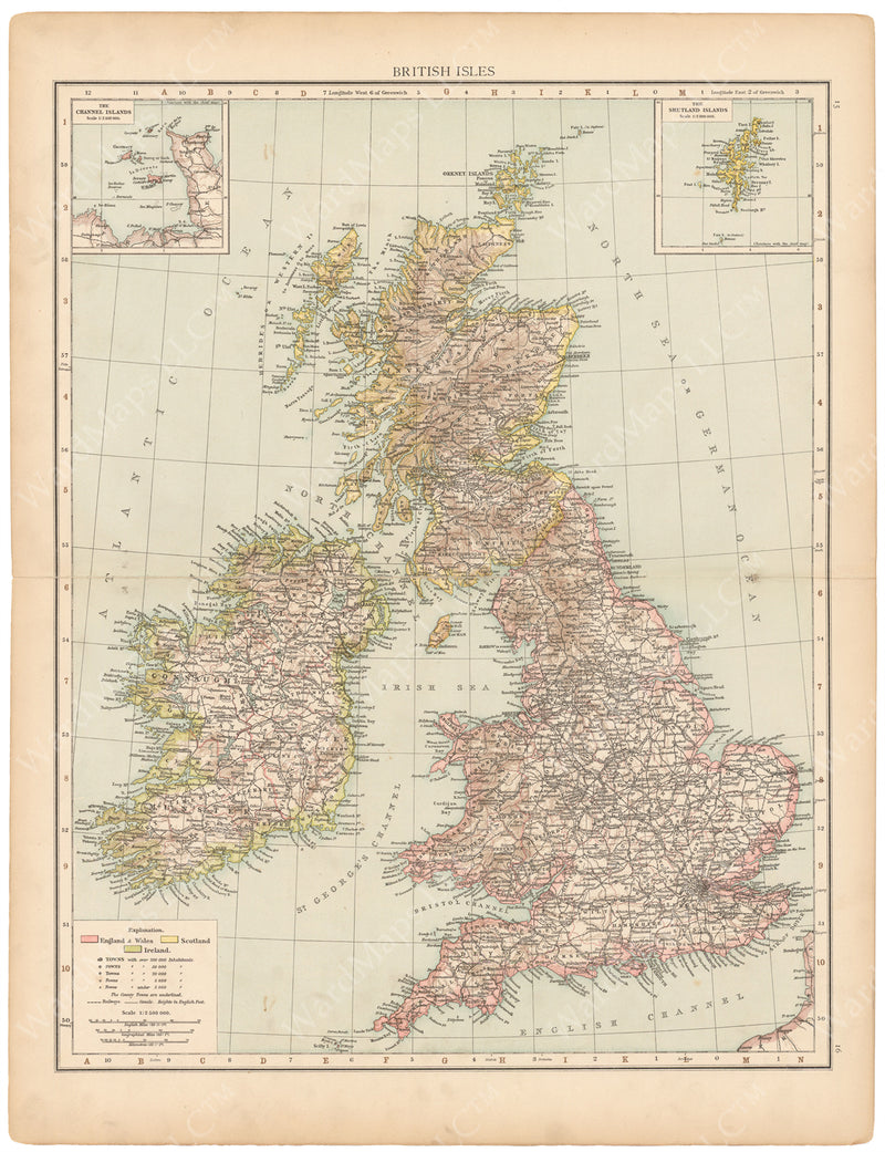 Great Britain and Ireland 1895