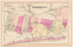 Brookhaven: South Part and Fire Island, New York 1873