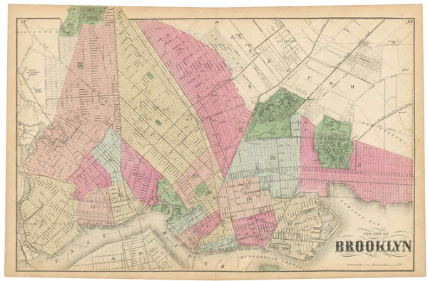Brooklyn, New York 1873