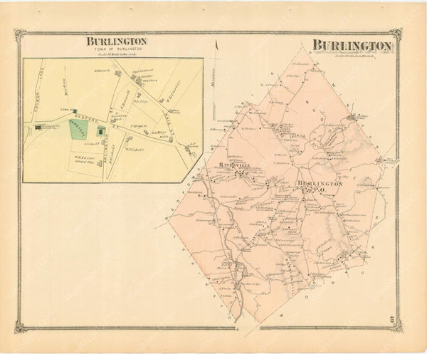 Burlington, Massachusetts 1875