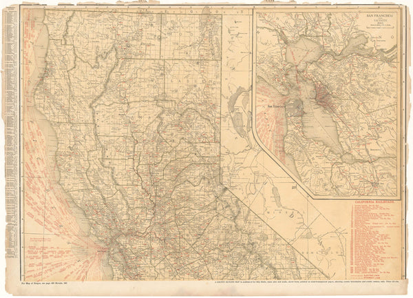 California 1925: Northern Portion