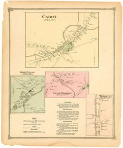 Cabot and Woodbury, Vermont 1873