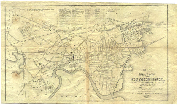 Cambridge, Massachusetts 1857