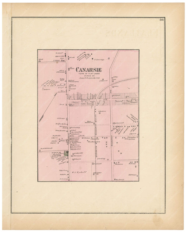 Flat Lands: Canarsie, New York 1873