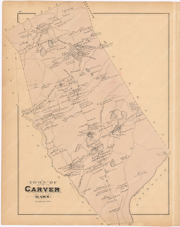 Carver, Massachusetts 1879