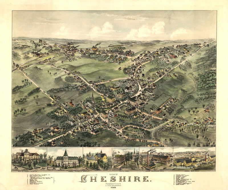 Cheshire, Connecticut 1882