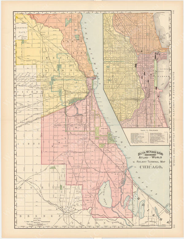 Chicago, Illinois 1891