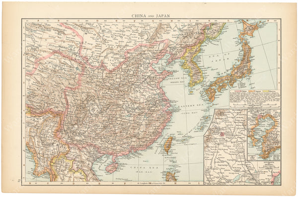 China, Japan, and Korea 1895