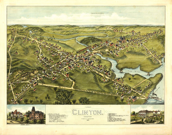 Clinton, Connecticut 1881