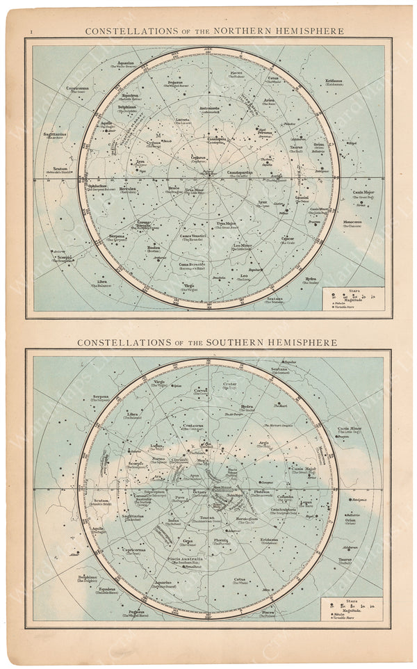 Constellations 1895