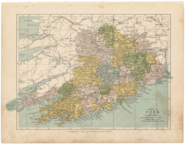 County Cork, Ireland 1900
