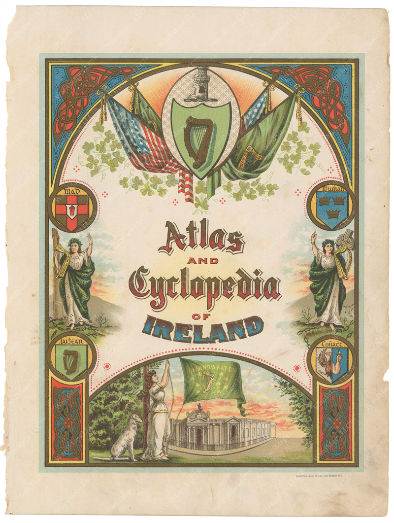 Atlas of Ireland 1900 Title Page