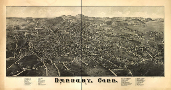 Danbury, Connecticut 1884