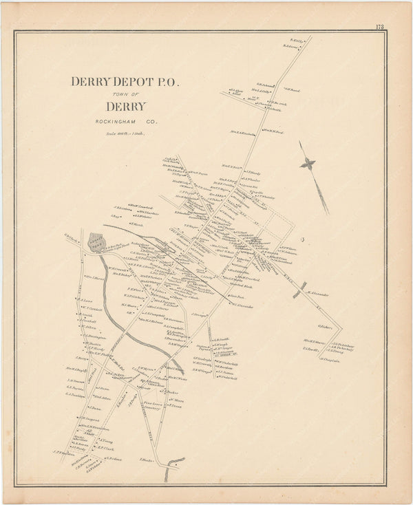 Derry, New Hampshire 1892