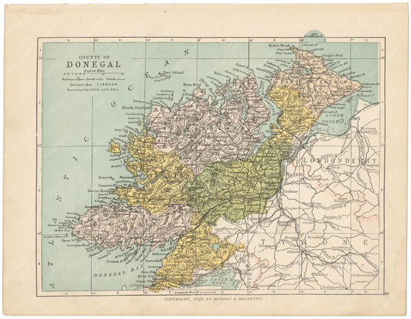 County Donegal, Ireland 1900