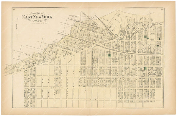 East New York (New Lots), New York 1873