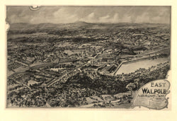 Walpole: East Walpole, Massachusetts 1898