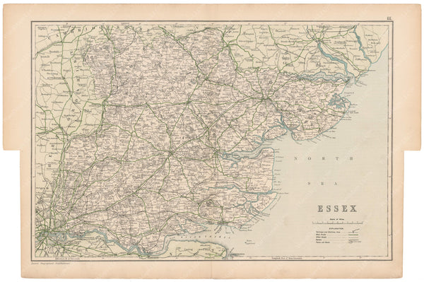 London, England and Suburbs 1910: Essex County