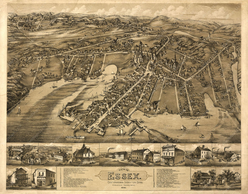 Essex, Connecticut 1881