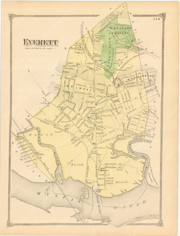 Everett, Massachusetts 1875