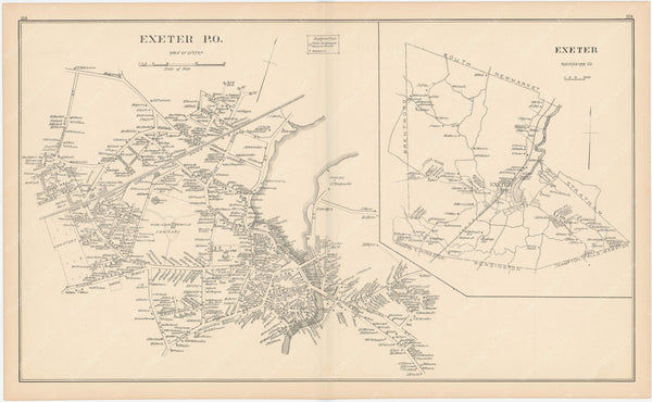Exeter, New Hampshire 1892