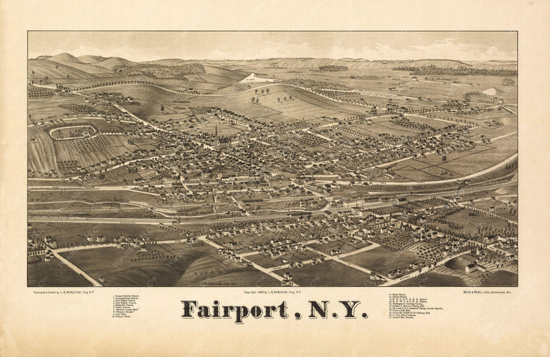 Fairport, New York 1865