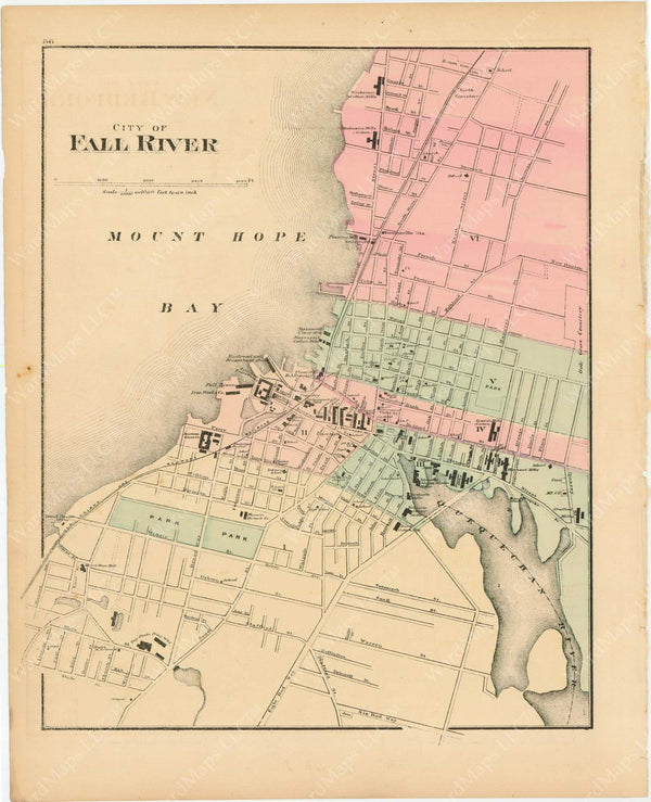 Fall River, Massachusetts 1871
