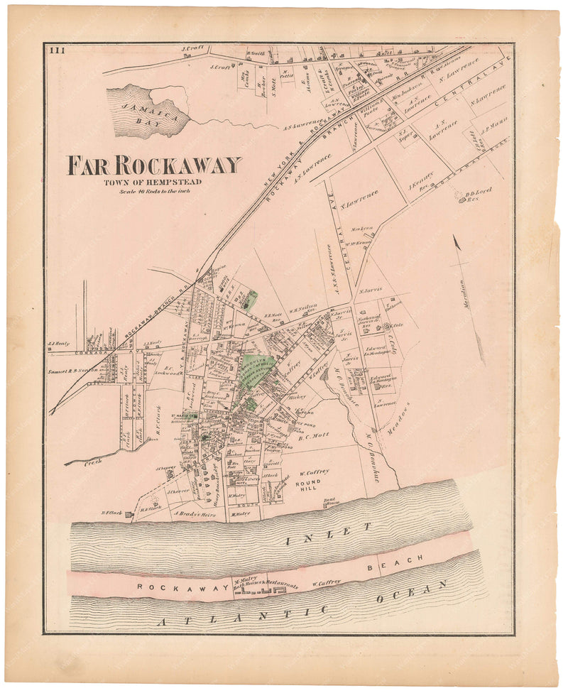 Hempstead: Far Rockaway, New York 1873