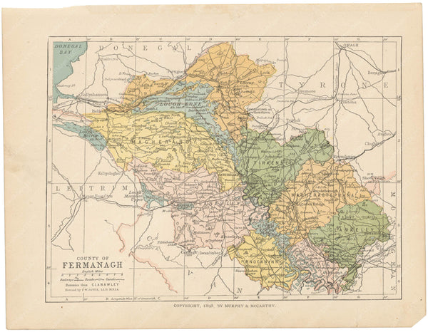 County Fermanagh, Ireland 1900