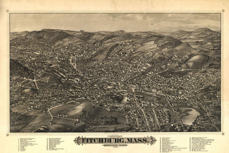 Fitchburg, Massachusetts 1882