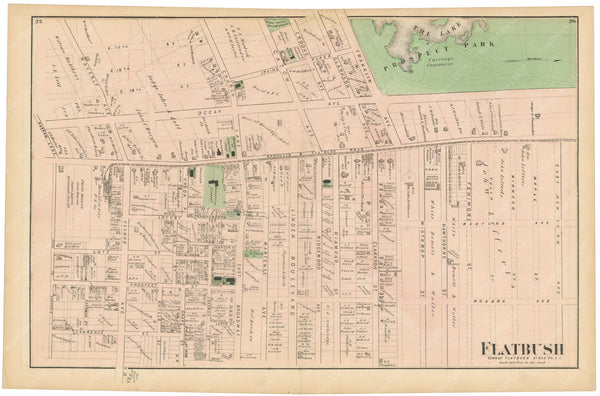 Flatbush, New York 1873