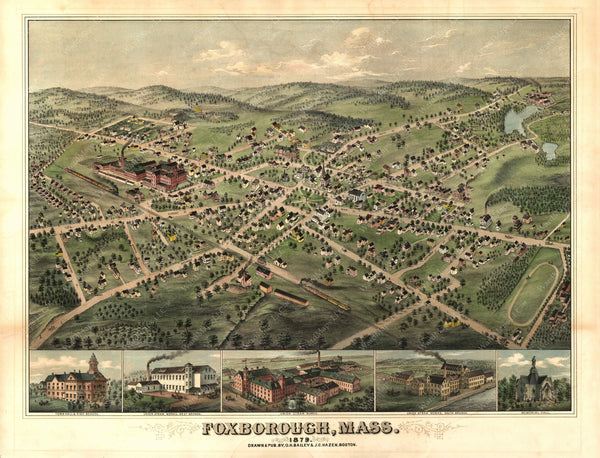 Foxborough, Massachusetts 1879