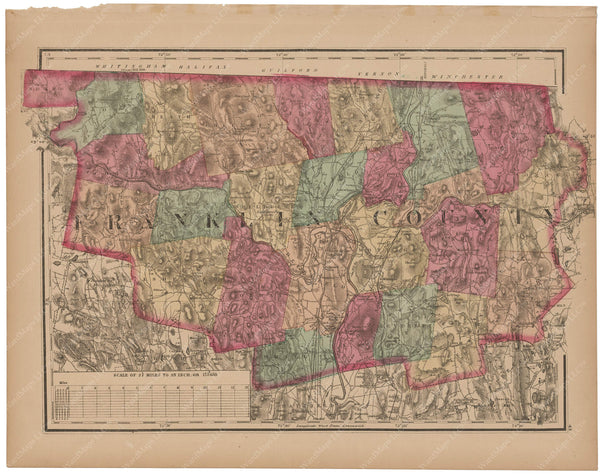 Franklin County, Massachusetts 1871